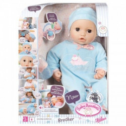 ZAPF CREATION Baby Annabell Interaktywna Lalka BRACISZEK 794654