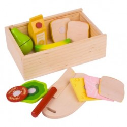 Bigjigs Toys - BJ733 - Pudełko na Lunch - Lunch Box