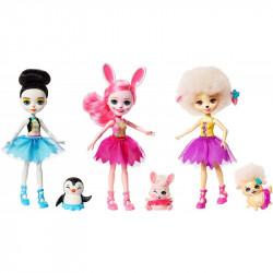 Mattel ENCHANTIMALS Szkoła Baletowa FRH55