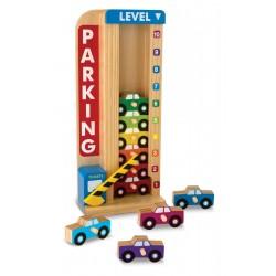 Melissa & Doug - 15182 - Drewniany Parking Piętrowy