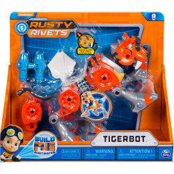 SPIN MASTER Rusty Rivets Rusty's Tigerbot Tygrys Robot 6039609