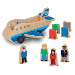 Melissa & Doug - 19394 - Drewniany Samolot - Avion