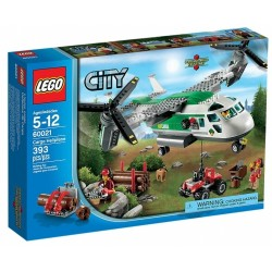 LEGO CITY 60021 Wirolot Towarowy