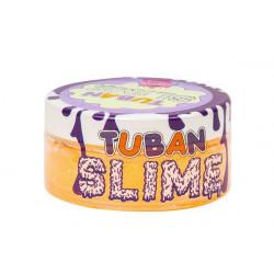 TUBAN Slime Glutek Pomarańczowy Neonowy z Brokatem 0223