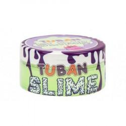 TUBAN Slime Glutek Zielony Neonowy z Brokatem 0186