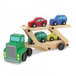 Melissa & Doug - 14096 - Drewniany Samochód Transportowy