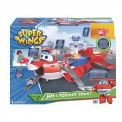 SUPER WINGS Lądowisko z Wieżą Jett 720830