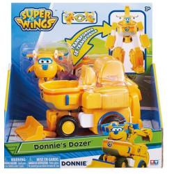 SUPER WINGS Transformujący pojazd DONNIE ŚRUBEK z Figurką 720312