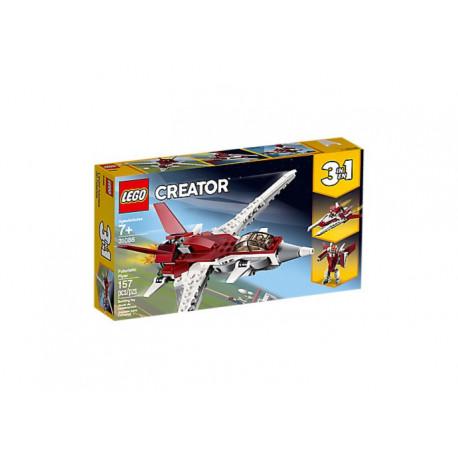LEGO CREATOR 31086 FUTURYSTYCZNY SAMOLOT