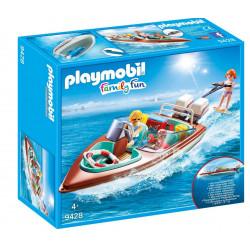PLAYMOBIL 9428 Family Fun MOTORÓWKA z Silnikiem Podwodnym