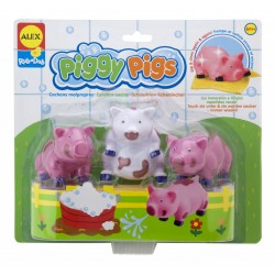 Alex Toys - 825 - Zabawki do Kąpieli - Umyj Świnki