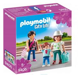 PLAYMOBIL 9405 City Life DZIEWCZYNY NA ZAKUPACH