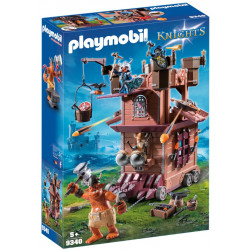 PLAYMOBIL 9340 KNIGHTS MOBILNA FORTECA