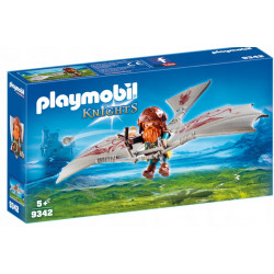 PLAYMOBIL 9342 KNIGHTS LATAJĄCA MASZYNA KRASNOLUDÓW