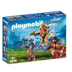 PLAYMOBIL 9344 KNIGHTS KRÓL KRASNOLUDÓW