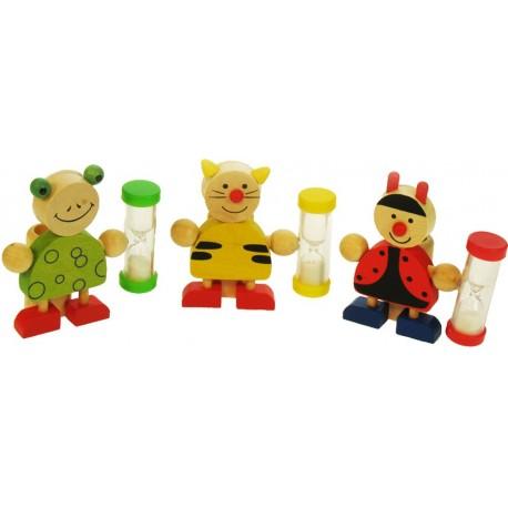 Bigjigs Toys - BJ132 - Minutnik do Mycia Ząbków