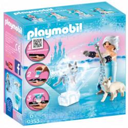 PLAYMOBIL 9353 Playmogram KRYSZTAŁOWA KSIĘŻNICZKA Z LISICĄ