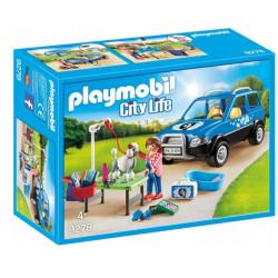 PLAYMOBIL 9278 City Life MOBILNY SALON DLA PSÓW