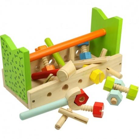 Bigjigs Toys - BJ663 - Stół Stolarski