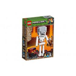 LEGO Minecraft 21150 BigFig SZKIELET Z KOSTKĄ MAGMY