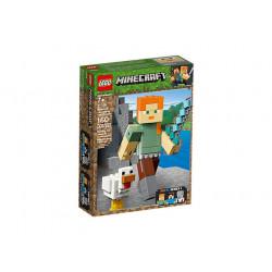 LEGO MINECRAFT 21149 BigFig Alex z kurczakiem