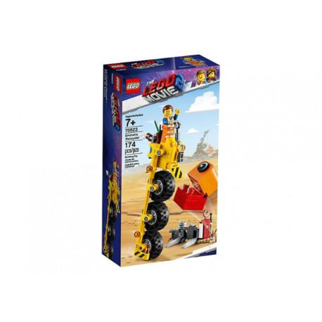 LEGO MOVIE 70823 TRÓJKOŁOWIEC EMMETA