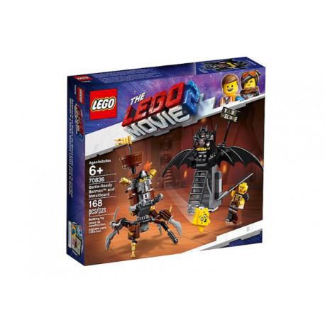 LEGO MOVIE 70836 BATMAN I STALOWOBRODY