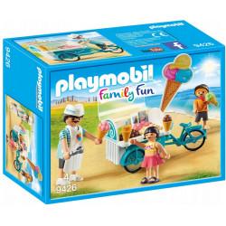 PLAYMOBIL 9426 Family Fun MOBILNY ROWER Z WÓZKIEM Z LODAMI