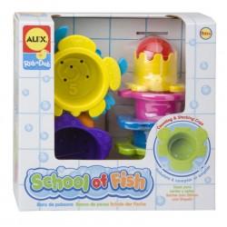 Alex Toys - 836 - Zabawki do Kąpieli - Szkoła Rybek