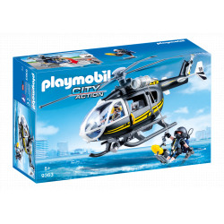 PLAYMOBIL 9363 City Action Helikopter Jednostki Specjalnej