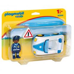 PLAYMOBIL 1.2.3. 9384 SAMOCHÓD POLICYJNY