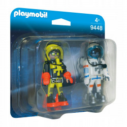 PLAYMOBIL 9448 DUO PACK ASTRONAUCI