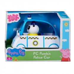 TM TOYS Świnka Peppa Zestaw Pojazd Policyjny Pandy 06676