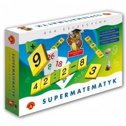 Alexander - Gra Edukacyjna - Supermatematyk 4663