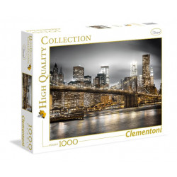 CLEMENTONI Puzzle 1000 el. High Quality Collection NOWY JORK 39366