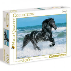 CLEMENTONI Puzzle 500 el. High Quality Collection GALOPUJĄCY KOŃ 30175