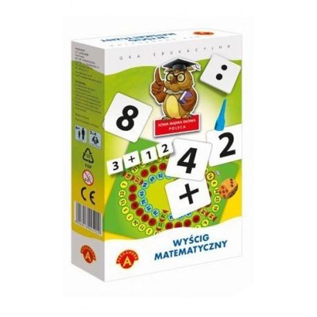 Alexander - Gra Edukacyjna - Wyścig Matematyczny - Mini 7176