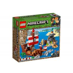 LEGO MINECRAFT 21152 PRZYGODA NA STATKU PIRACKIM