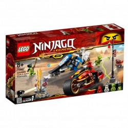 LEGO NINJAGO 70667 MOTOCYKL KAIA I SKUTER ZANE'A