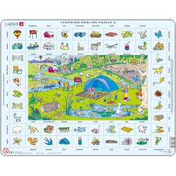 LARSEN Puzzle NAUKA ANGIELSKIEGO nr.4 47076