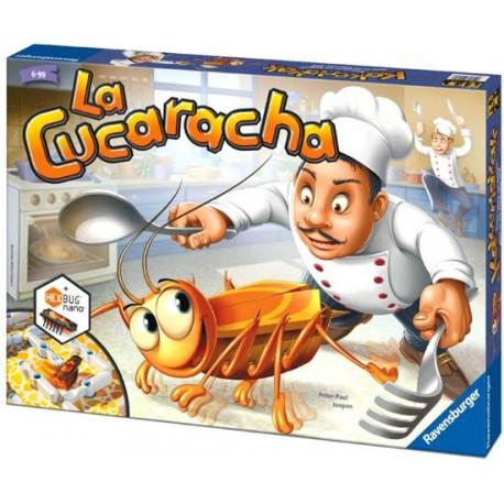 Ravensburger - 222520 - Gra Planszowa - La Cucaracha - Karaluch