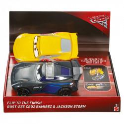 MATTEL Cars 3 Auta Zestaw ODJAZDOWE FIKOŁKI RAMIREZ STORM FCX95