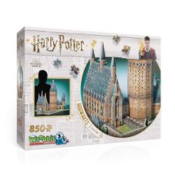 WREBBIT Puzzle 3D Harry Potter WIELKA SALA 850el. 02014