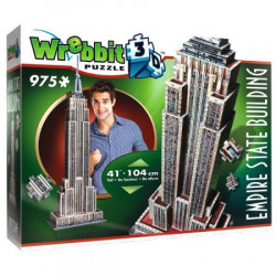 WREBBIT Puzzle 3D EMPIRE STATE BUILDING 975 elementów 02007