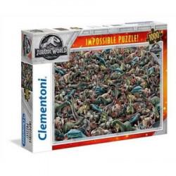 CLEMENTONI Puzzle 1000 el. DINOZAURY JURASSIC WORLD 39470