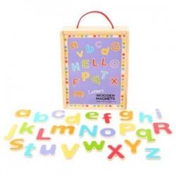 Bigjigs Toys - BJ719 - Magnetyczne Literki