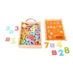 Bigjigs Toys - BJ720 - Magnetyczne Cyferki