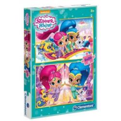 CLEMENTONI Puzzle 2x20 el. SHIMMER&SHINE 07028