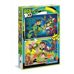 CLEMENTONI Puzzle 2x20 el. Ben 10 07035