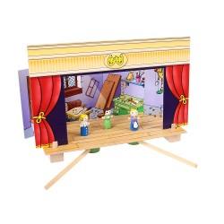 Bigjigs Toys - BJ750 - Magnetyczny Teatrzyk